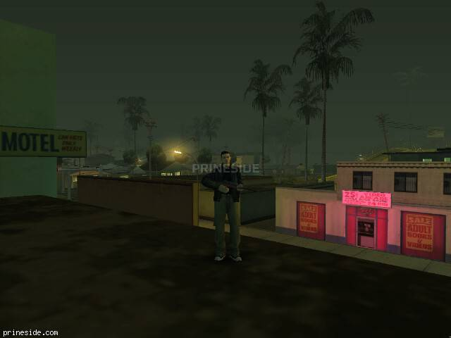 GTA San Andreas weather ID -1516 at 23 hours