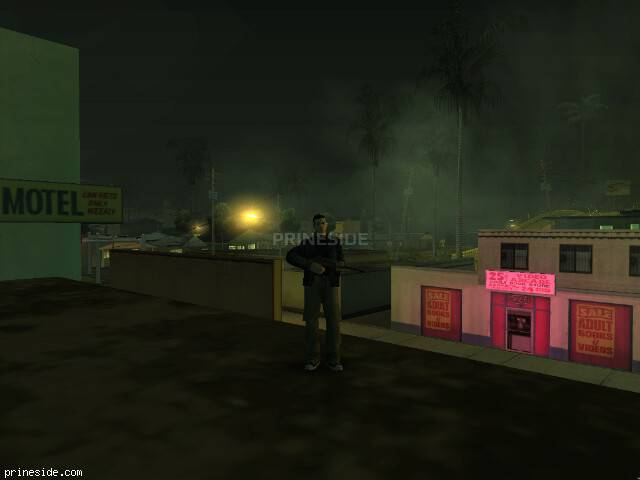 GTA San Andreas weather ID 1044 at 2 hours