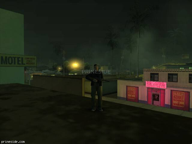 GTA San Andreas weather ID 1300 at 4 hours