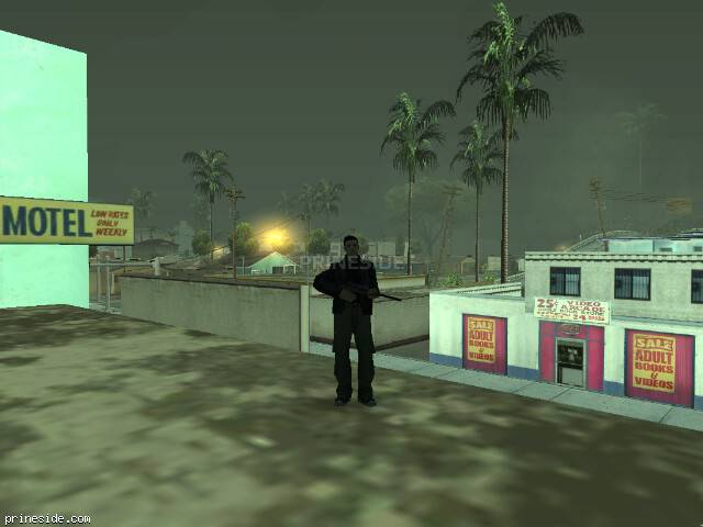 GTA San Andreas weather ID -1004 at 7 hours