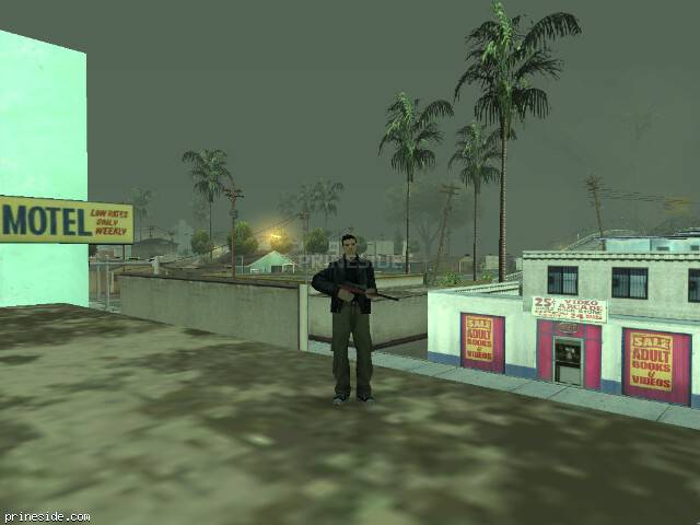 GTA San Andreas weather ID 1300 at 9 hours