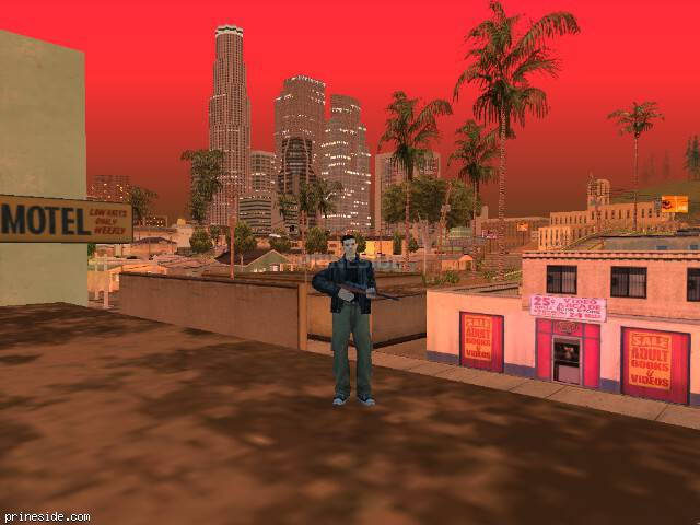 GTA San Andreas weather ID 200 at 21 hours