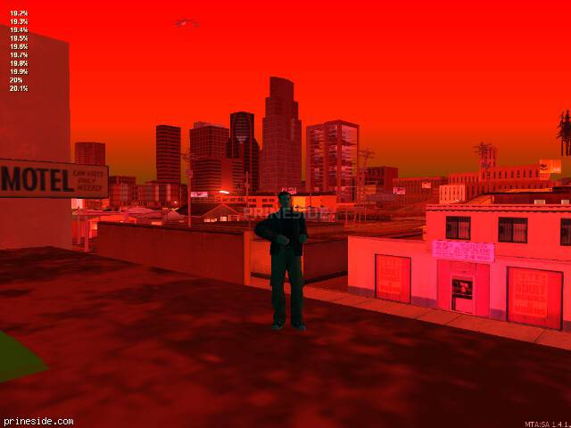 GTA San Andreas weather ID 713 at 0 hours