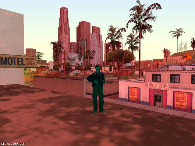 GTA San Andreas weather ID -55 at 16 hours