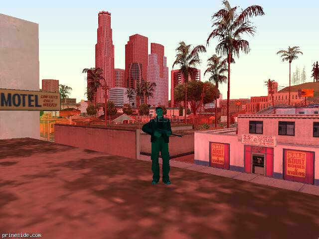 GTA San Andreas weather ID 201 at 17 hours