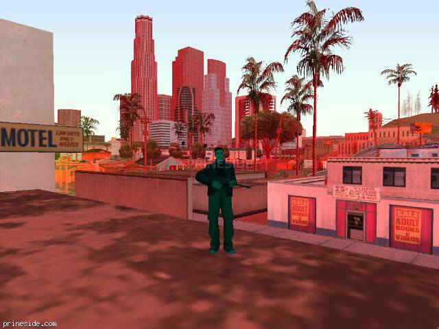 GTA San Andreas weather ID -567 at 19 hours