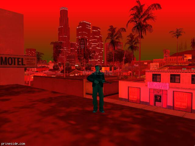 GTA San Andreas weather ID 201 at 22 hours