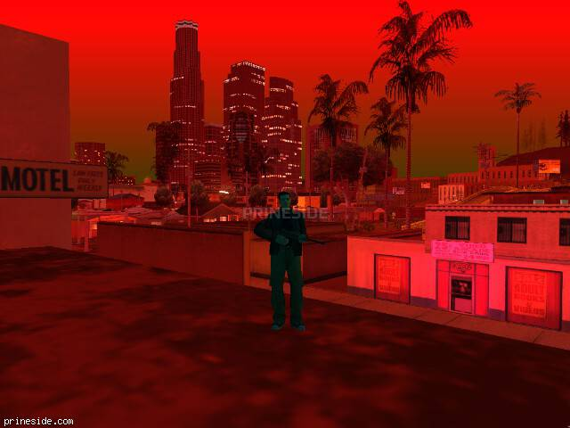GTA San Andreas weather ID 201 at 23 hours
