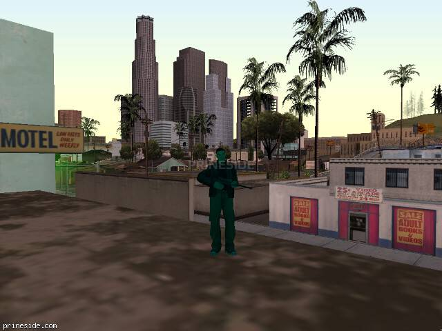 GTA San Andreas weather ID -54 at 15 hours