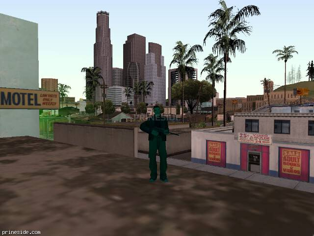 GTA San Andreas weather ID 202 at 19 hours