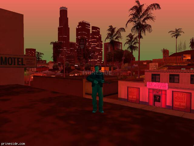 GTA San Andreas weather ID 202 at 21 hours
