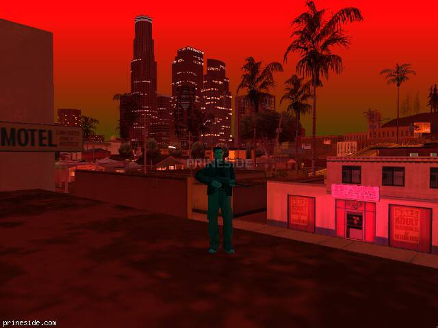 GTA San Andreas weather ID 202 at 22 hours