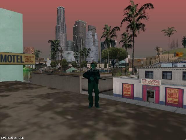 Просмотр погоды GTA San Andreas с ID 203 в 20 часов