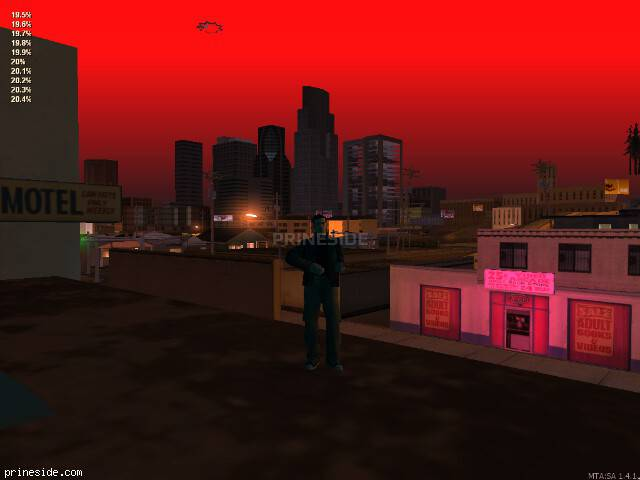 GTA San Andreas weather ID 204 at 0 hours