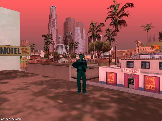 GTA San Andreas weather ID 204 at 16 hours