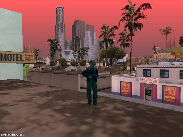 GTA San Andreas weather ID 1740 at 17 hours