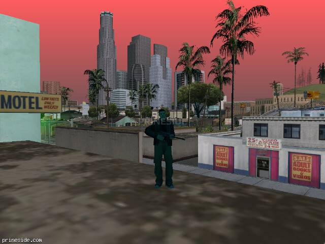 GTA San Andreas weather ID -52 at 19 hours