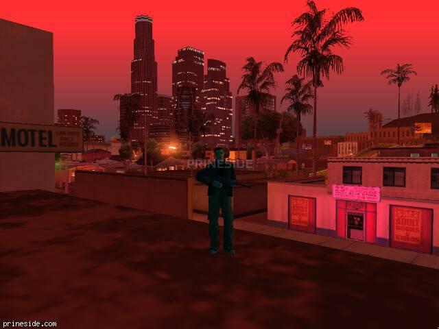 Просмотр погоды GTA San Andreas с ID 1484 в 21 часов
