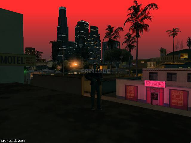 GTA San Andreas weather ID -52 at 22 hours