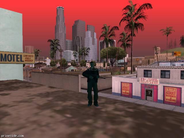 Просмотр погоды GTA San Andreas с ID 204 в 8 часов