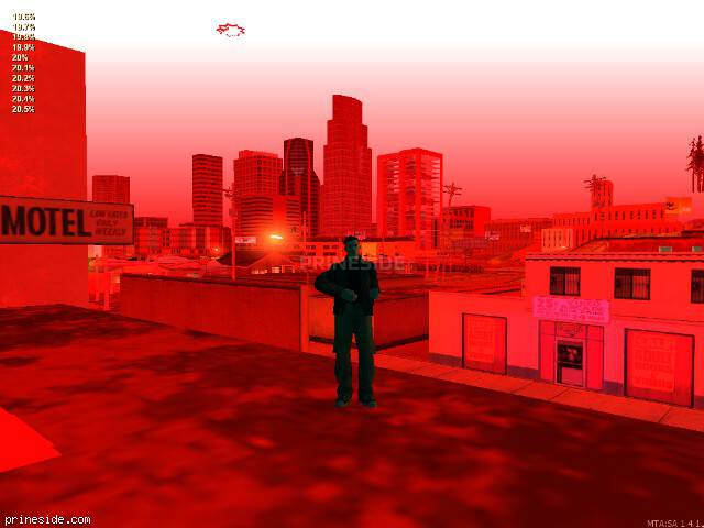 Просмотр погоды GTA San Andreas с ID 205 в 0 часов