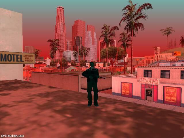 Просмотр погоды GTA San Andreas с ID 205 в 10 часов