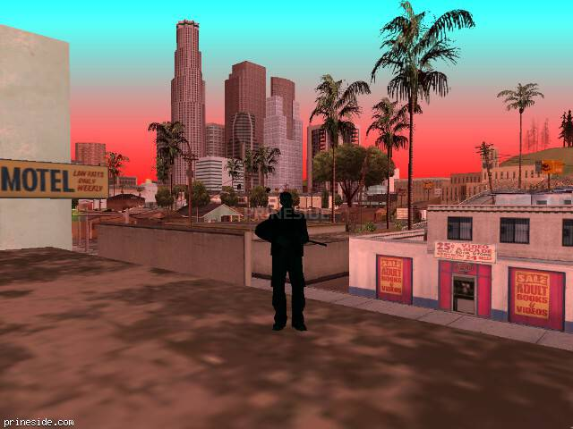 Просмотр погоды GTA San Andreas с ID 205 в 14 часов