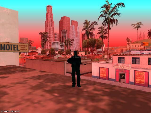 Просмотр погоды GTA San Andreas с ID 205 в 15 часов