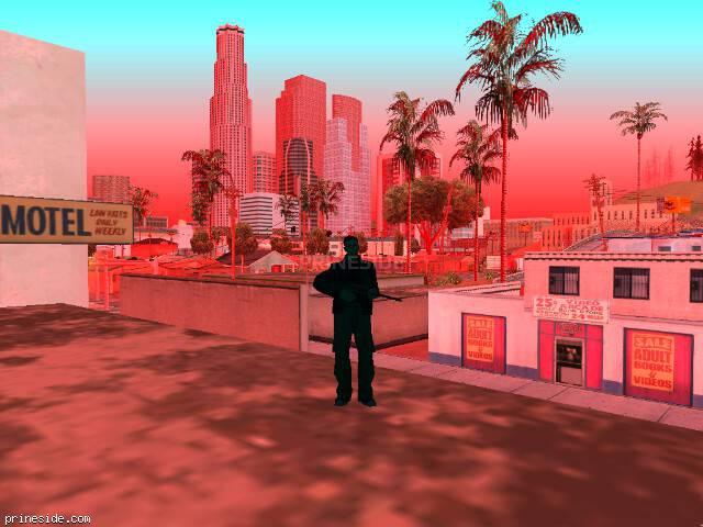 Просмотр погоды GTA San Andreas с ID 205 в 19 часов