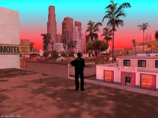 GTA San Andreas weather ID 205 at 20 hours
