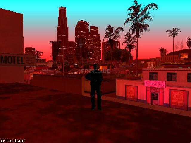 Просмотр погоды GTA San Andreas с ID 205 в 21 часов