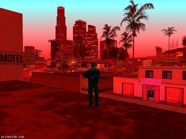 Просмотр погоды GTA San Andreas с ID 205 в 23 часов