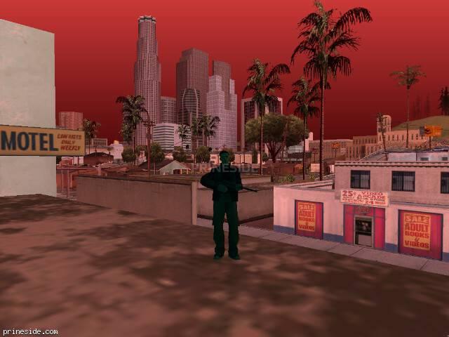 Просмотр погоды GTA San Andreas с ID 205 в 8 часов