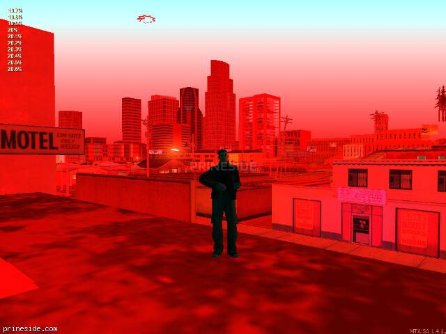 GTA San Andreas weather ID 1230 at 0 hours