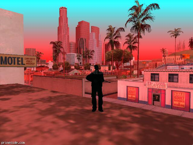 GTA San Andreas weather ID 206 at 11 hours