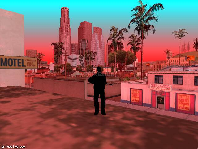 GTA San Andreas weather ID 718 at 14 hours