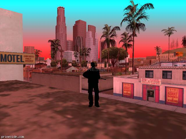 GTA San Andreas weather ID -50 at 15 hours