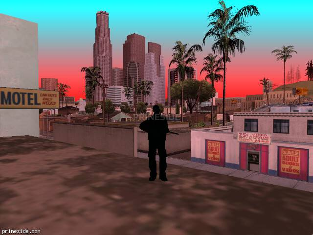 GTA San Andreas weather ID 2254 at 16 hours