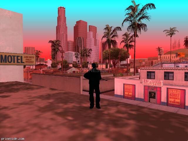 GTA San Andreas weather ID 2254 at 17 hours