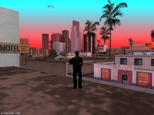 GTA San Andreas weather ID 462 at 19 hours