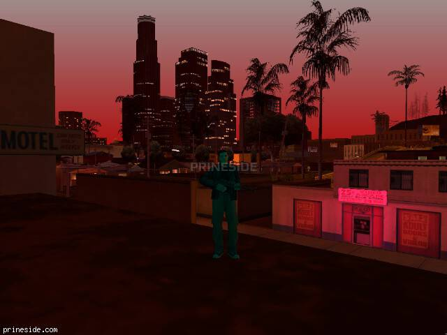 GTA San Andreas weather ID -562 at 21 hours
