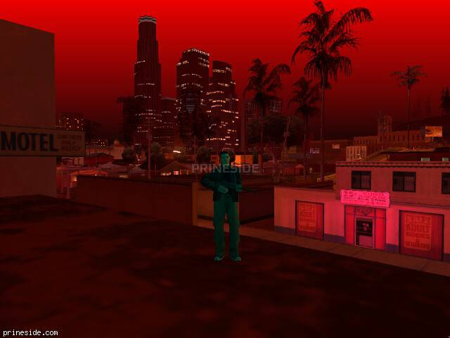 GTA San Andreas weather ID 718 at 22 hours