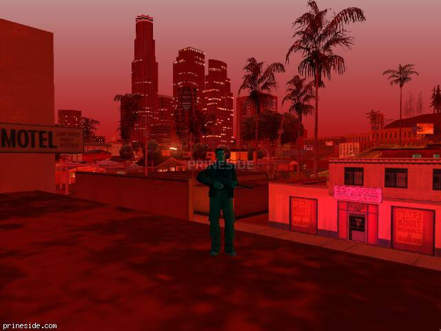 GTA San Andreas weather ID 718 at 23 hours