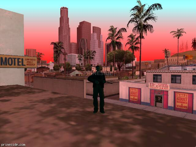 GTA San Andreas weather ID 718 at 8 hours