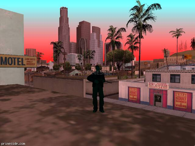 GTA San Andreas weather ID 206 at 9 hours