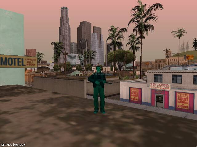 GTA San Andreas weather ID -305 at 17 hours