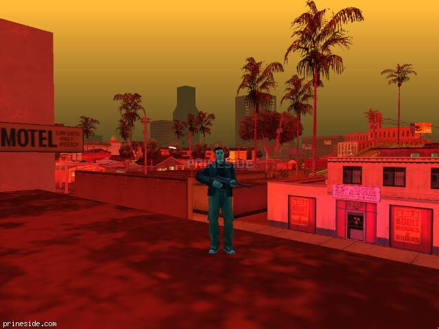 GTA San Andreas weather ID -305 at 21 hours