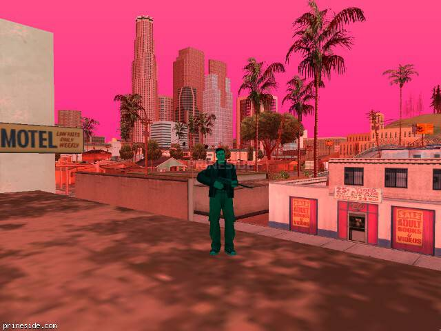 GTA San Andreas weather ID 207 at 9 hours