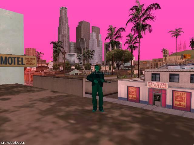 Просмотр погоды GTA San Andreas с ID 208 в 12 часов