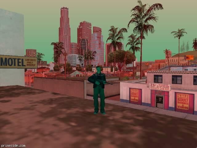 Просмотр погоды GTA San Andreas с ID 208 в 20 часов
